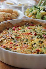 Hafif Mutfak: Sebzeli Kiş