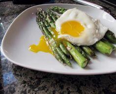 Asparagus with egg – Asparagi alla Bismarck