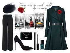 """""""Fifty ways to wear Chanel  # 31"""" by sharon-griffith ❤ liked on Polyvore featuring Ted Baker, Crate and Barrel, Jaeger, Gianvito Rossi and Chanel"""