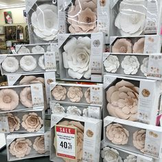 Paper flowers at hobby lobby. Color choices: mauve pink and white. Sizes: small, medium and large. Prices: Triple than most paper flowers made by small businesses. [[SWIPE ➡️ to see Prices]]. I posted these photos on my Story, when I was at the store. I received over 50 DM's (stopped counting after that) of several different reactions. Majority were shocked, others we disappointed, few were angry, and a very small percentage were happy for them. Paper flowers are worth the price. They are…