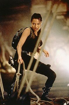 Why aren't there more badass female action stars?  I love AJ.