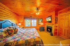 Pigeon Forge Cabin - American Romance - 1 Bedroom - Sleeps 4