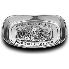 Wilton Armetale Give Us This Day Bread Tray Wilton Armetale https://www.amazon.com/dp/B01DUEZ1GK/ref=cm_sw_r_pi_dp_k2pJxbNVM2QRR