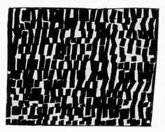 ELLSWORTH KELLY, Light Reflection on Water, 1950, ink on paper 2-1/4 x 2-7/8 inches (5.715 x 7.302 cm)<br />