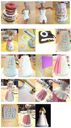 Doll cake tutorial