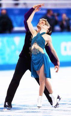 Meryl Davis and Charlie White #Olympics #TeamUSA