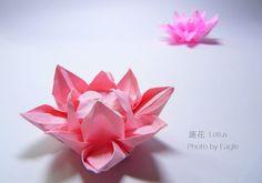 Орел Оригами: Оригами обучения Диаграммы