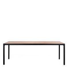 ILLUM DINING TABLE NARROW RECTANGLE 210 - JANUS et Cie