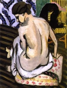 Seated Nude with Back Turned - Henri Matisse - The Athenaeum