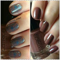 #lackeinfarbeundbunt in braun mit #catrice #themonkeygetsfunky in 2 Schichten mit #stamping 💅 #catricecosmetics#lifub #catrice_cosmetics #nailpolish #nagellack #naillacquer #instanails #nailswag #nailsdone #manicure #notd #nailporn #nailsoftheday #nails #nägel #instapic #nailsofinstagram #nagellackliebe #nailpolishlover #nailpolishlove #nailart #nailinspiration