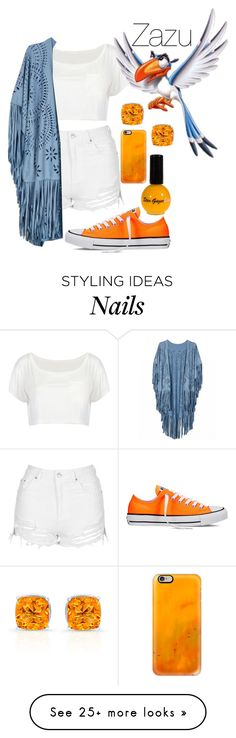 """""""Zazu"""" by hipstermonkey12 on Polyvore featuring Topshop, Converse and Casetify"""