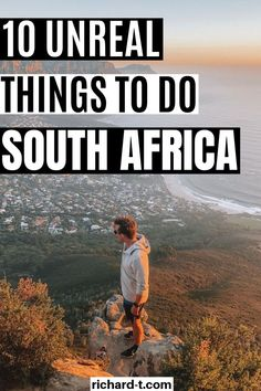 10 Things To Do In South Africa That'll Change Your Life 10 Bucket list items for your travels in South Africa! South Africa is an AMAZING travel destination, so make sure you tick off each one of these awesome bucket list items! Visit South Africa, Cape Town South Africa, New Africa, Africa News, Africa Quiz, Africa Flag, East Africa, Cool Places To Visit, Places To Travel