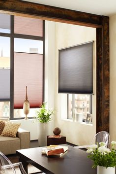Farbige hochwertige Plissees die Sichtschutz bieten / Colored quality pleats offer visibility protection | Duette | Nordstil Winter 2016 | TOP FAIR Blog