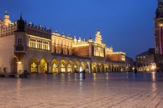 Cloth Hall, Old Town Square, Krakow, Poland.