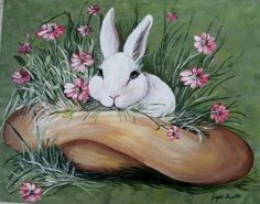 This beautiful acrylic painting is on canvas panel and can be enjoyed just as it is or can be framed. The brilliant colors and detail are amazing. This delightful and charming creation will be a treas