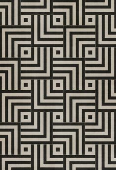 An expensive but beautiful option for changing up your rental floors - vinyl floor cloths come in amazing tile patterns like this! Product: Pura Vida Home Decor - Pattern 60 Inversion vinyl floor cloth Vinyl Floor Covering, Floor Texture, Floor Cloth, Floor Rugs, Floor Patterns, Wall Patterns, Print Patterns, Pvc Material, Floor Design