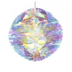 Party Decorations - Iridescent Ball