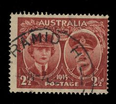 AUSTRALIA -  1945 - CDS OF PYRAMID HILL (VIC) ON 2 1/2d LAKE SG209