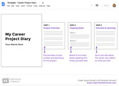 Check out Sarah Doody's Career Project Diary, the solution to all of your UX documentation woes. Web Design Trends, Ux Design, Process Infographic, Graphic Design Resume, Annual Report Design, Newspaper Design, Responsive Web Design, Dashboard Design, Inside Design