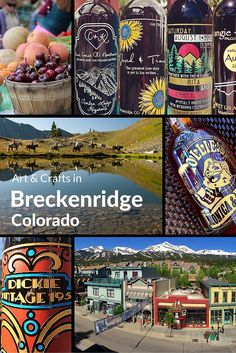 Arts and crafts in the mountain town of Breckenridge, Colorado, USA. Follow the link to discover more.