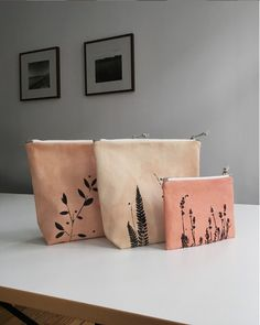 Wholesaling your handmade products can be both a challenge and joy — kaliko Embroidery Bags, Hand Embroidery Designs, Handmade Bags, Handmade Products, Handmade Ideas, Fabric Stamping, Tampons, Screen Printing, Purses And Bags