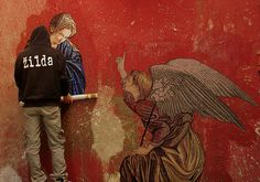 Naples, italy. L'Annunciazione by Zilda