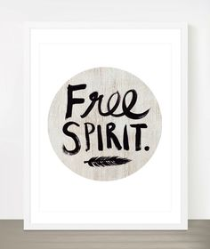 Free Spirit   Boho style 8x10 inch on A4 type by theloveshop, $20.00