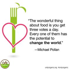 Vote with your spoon. Vegan Memes, Vegan Quotes, Food Quotes, Health Quotes, Vegetarian Lifestyle, Vegetarian Recipes, Vegetarian Quotes, In Defense Of Food, Reasons To Be Vegan