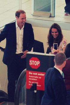 Duke & Duchess of Cambridge on their way back from their trip to Asia in 2012.. love this picture for Duchess of Cambridge.