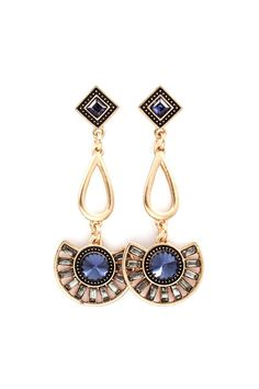 Dianna Earrings in Sapphire