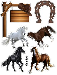 Topo cavalo Bolo Super Man, Bolo Laura, Western Parties, Cowboy Party, 50th Birthday Party, Horse Pictures, Cake Toppers, Westerns, Decoupage