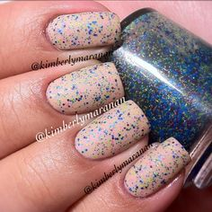 I rarely, and I mean RARELY, wear a matte nail cuz I love high gloss nails. But when it works, it's amazing! Essence - Hazelnut Cream Pie with Pretty n Polished - Sand Art - @kimberlymaranan- #webstagram