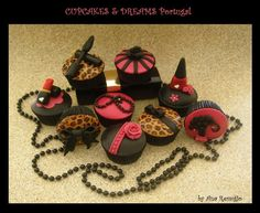 MAKE-UP ADDICT!!! - Cake by Ana Remígio - CUPCAKES & DREAMS Portugal
