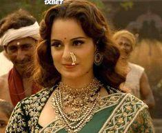 "Manikarnika: The Queen of Jhansi Is Not ""The Warrior Queen of Jhansi"" Traditional Fashion, Traditional Looks, All Black Fashion, Women's Fashion, Fashion Outfits, Pakistani Bridal Wear, Pakistani Dresses, Maharashtrian Jewellery, British Costume"