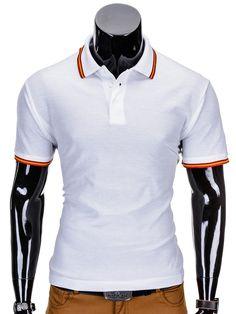 Polo S709 - BIAŁA - Sklep Ombre Polo, Motorcycle Jacket, Athletic, Zip, Jackets, Fashion, Moda, Athlete, Moto Jacket