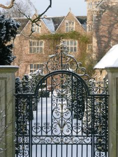 english country house …