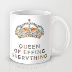 Buy her daily motivation by Bianca Green as a high quality Mug. Worldwide shipping available at Society6.com. Just one of millions of products available.