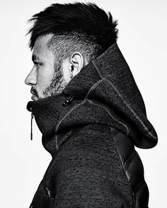 14 streetwear inspired men's hairstyles - hairstyles & haircuts for Neymar Jr, Modern Hairstyles, Hairstyles Haircuts, Cool Hairstyles, Streetwear, Hip Hop, Style Casual, Mens Fashion, Fashion Tips