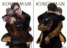 Harry Hart & Gary (Eggsy) Unwin | Hartwin || Kingsman: The secret service
