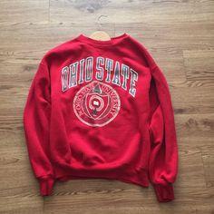Vintage 80's Ohio State Crewneck Sweatshirt by VNTGvault on Etsy