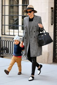 Miranda Kerr and her son Flynn's best street style moments. Flynn in LIVLY's Sleeping cutie hat.