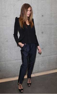 Elisa Sednaoui... the pants