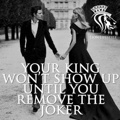 Ladies, do me a favor, don't you dare to lose a king over a joker! It's a decision you'll regret forever! > - Via: @daily_motiv8ion ➖➖➖➖➖➖➖➖➖➖➖➖➖➖➖➖➖ Follow: @lionlifestyle ➖➖➖➖➖➖➖➖➖➖➖➖➖➖➖➖➖ Use #LionLifeStyle to be featured!
