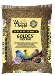 wild delight golden finch food, all the finches love this seed.