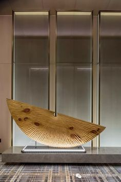 View full picture gallery of Shenzhen Marriott Hotel Nanshan Marriott Hotels, Art Object, Wood Sculpture, Sofa Furniture, Wood Art, Lobbies, Architecture Design, Art Deco, Interior Design