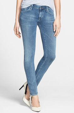 Citizens of Humanity 'Racer' Low Rise Skinny Jeans (Gaze) available at #Nordstrom