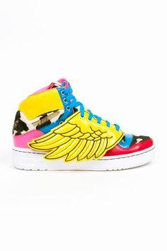 timeless design 3a648 fcbef Adidas Originals x Jeremy Scott - 2NE1 Wings Jeremy Scott Adidas, Unique  Shoes, Sport