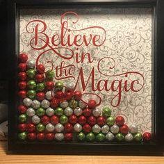 Believe Believe Svg Winter Svg Christmas Svg She Believed Dollar Tree Christmas, Christmas Crafts For Gifts, Homemade Christmas Gifts, Christmas Items, Christmas Svg, Christmas Holidays, Christmas Decorations, Christmas Ornaments, Flower Shadow Box