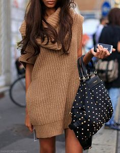 Winter Chic: 40 Stellar Street Style Outfits to Copy Now   | StyleCaster