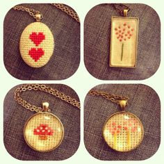 resin cross stitch